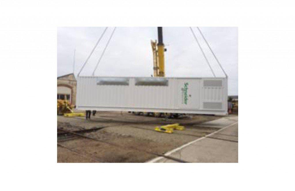 Essais de caractérisation thermique et aéraulique sur container de transformation de courant