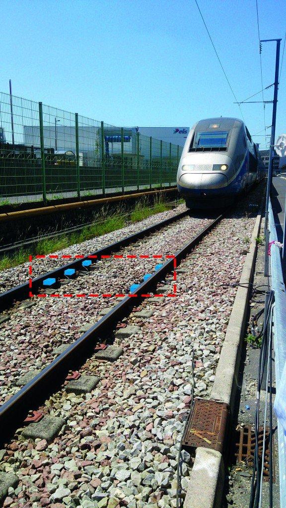 Compatibilité électromagnétique du matériel roulant avec les detecteurs electroniques de roues