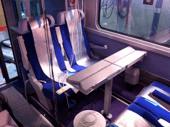 Essais de conditionnement de l'air sur une remorque de TGV Duplex