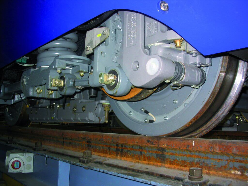 Caractérisation contact roue-rail