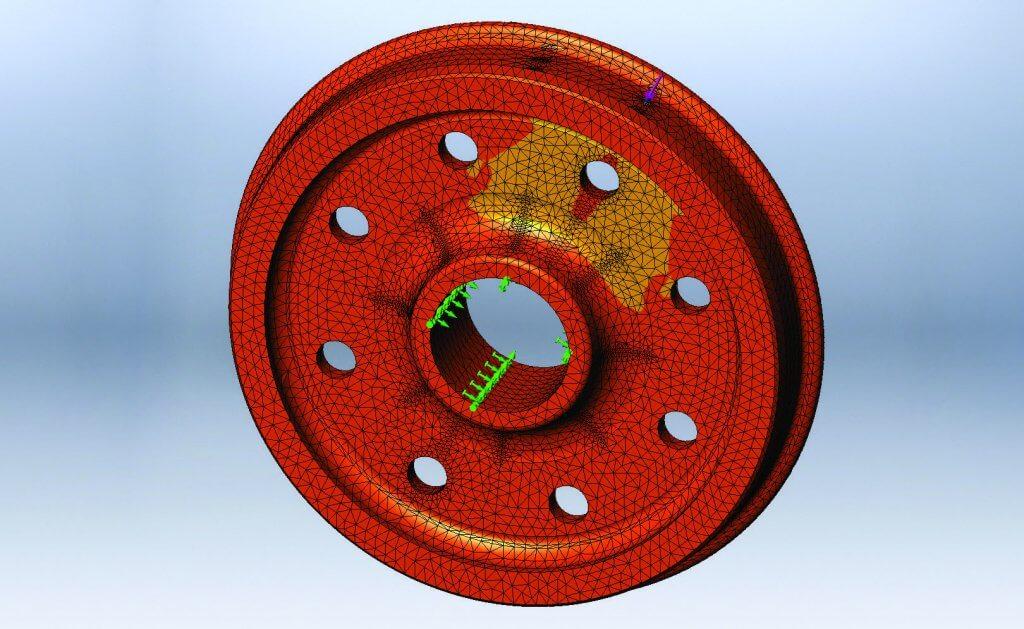 Conception et fabrication d'essieux de mesure