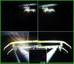 Auscultation vidéo pour contrôle gabarit pantographe