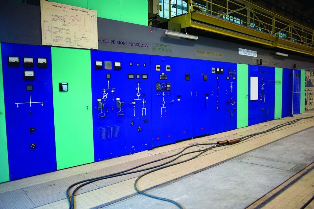 Essais électriques en laboratoire