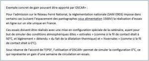 Exemple OSCAR