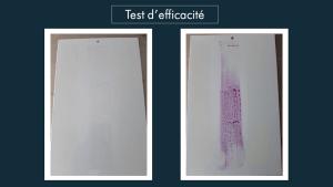 Test d'efficacité